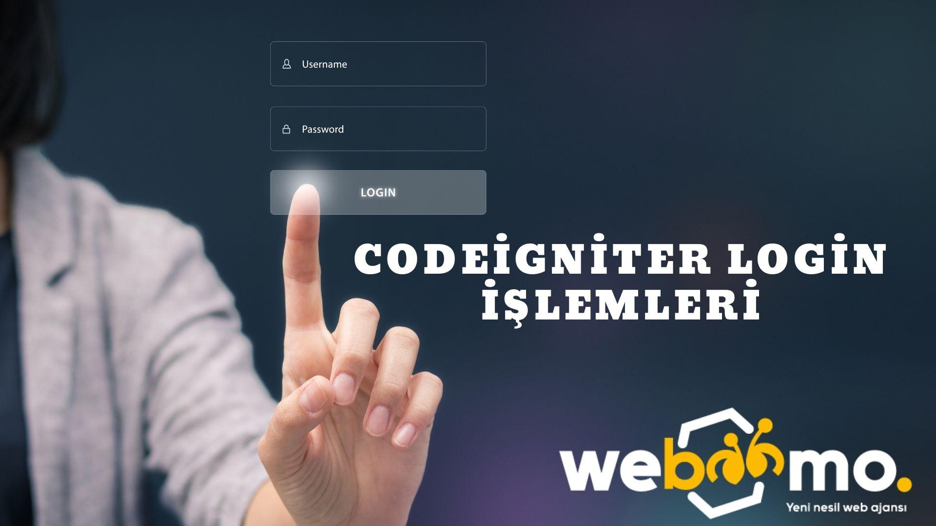 Codeigniter Login İşlemleri